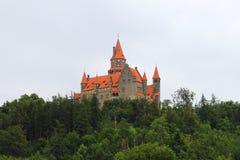 Castello di Bouzov immagine stock