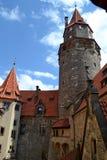 Castello di Bouzov, repubblica ceca Immagine Stock