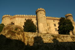 Castello di Bracciano Photo stock