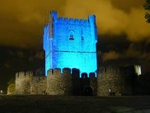 Castello di Bragança Immagini Stock Libere da Diritti