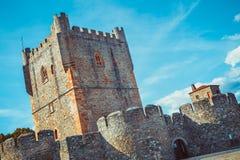 Castello di Braganza Immagini Stock Libere da Diritti