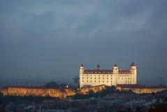 Castello di Bratislava Fotografia Stock