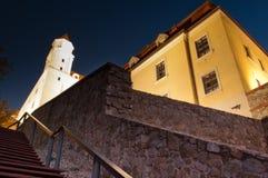 Castello di Bratislava Immagine Stock