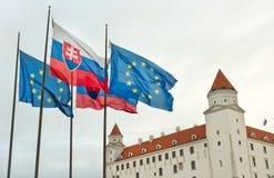 Castello di Bratislava Fotografie Stock