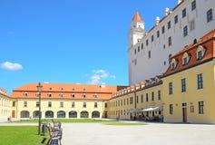 Castello di Bratislava Immagini Stock