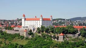 Castello di Bratislava, Slovacchia video d archivio