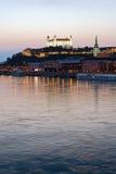 Castello di Bratislava, Slovacchia Fotografia Stock Libera da Diritti