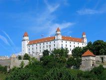 Castello di Bratislava, Slovacchia Immagini Stock