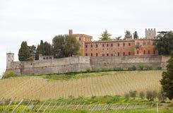The Castello di Brolio, Gaiole in Chianti, Tuscany, Italy royalty free stock photo