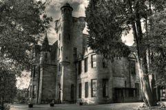 Castello di Broomhall immagine stock
