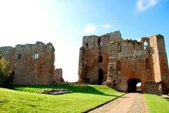 Castello di Brougham fotografie stock libere da diritti