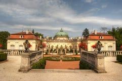 Castello di Buchlovice fotografie stock libere da diritti