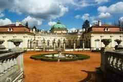 Castello di Buchlovice Fotografia Stock