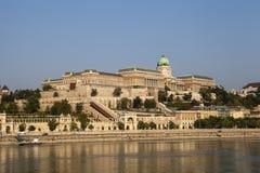Castello di Buda a Budapest immagini stock libere da diritti