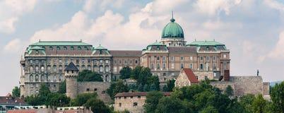 Castello di Buda a Budapest, Ungheria Fotografia Stock Libera da Diritti