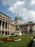 Castello di Budapest Fotografie Stock