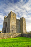 Castello di Bunratty alla sosta piega Fotografie Stock Libere da Diritti