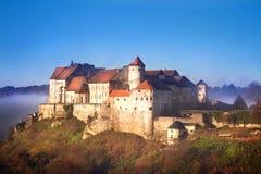 Castello di Burghausen, Baviera, Germania Fotografia Stock