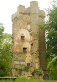 Castello di Burgie. Fotografia Stock Libera da Diritti