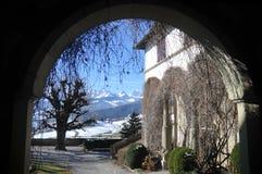 Castello di Burgistein Fotografie Stock