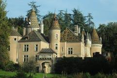 Castello di Burnand/Chateau De Burnand Fotografia Stock Libera da Diritti