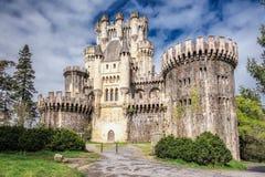 Castello di Butron Fotografia Stock Libera da Diritti