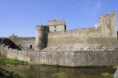 Castello di Cahir in Irlanda Fotografia Stock Libera da Diritti