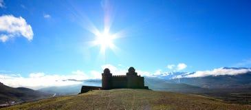 Castello di Calahorra della La, Andalusia, Spagna immagini stock libere da diritti