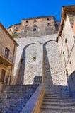 Castello di Cancellara La Basilicata L'Italia Immagine Stock