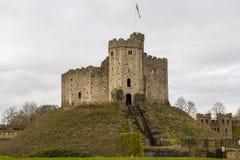 Castello di Cardiff Fotografia Stock Libera da Diritti