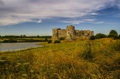 Castello 2 di Carew Fotografia Stock