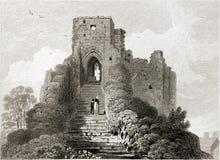Castello di Carisbrooke. Fotografia Stock