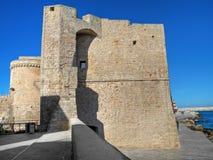 Castello di Carlo V. Monopoli. Apulia. immagine stock libera da diritti
