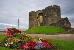 Castello di Carrickfergus immagini stock libere da diritti