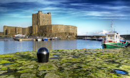 Castello di Carrickfergus fotografia stock