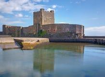 Castello di Carrickfergus, Irlanda del Nord Immagine Stock