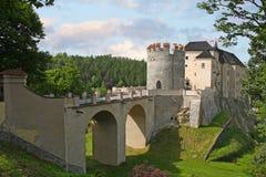 Castello di Ceco Sternberk Fotografie Stock