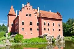 Castello di Cervena Lhota, Boemia, repubblica Ceca Fotografia Stock