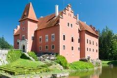 Castello di Cervena Lhota, Boemia, repubblica Ceca Immagine Stock