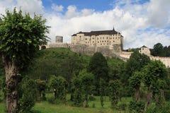 Castello di Cesky Sternberk Fotografia Stock