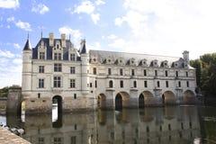 Castello di Chateau de Chenonceau, Loire Valley, Francia Immagini Stock Libere da Diritti