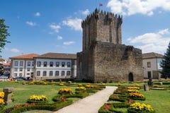 Castello di Chaves immagini stock