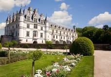 Castello di Chenonceau fotografie stock libere da diritti