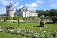 Castello di Chenonceau fotografia stock libera da diritti