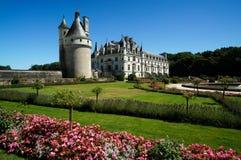 Castello di Chenonceau, Chenonceaux, Francia fotografia stock libera da diritti