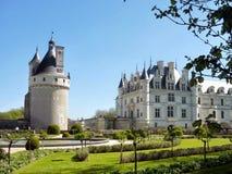 Castello di Chenonceau - Loire Valley - Francia Immagini Stock Libere da Diritti
