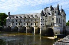 Castello di Chenonceau nel Loire Valley, Francia fotografia stock libera da diritti