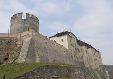 Castello di Chesky Shternberk Fotografia Stock Libera da Diritti