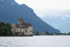 Castello di Chillon Immagini Stock Libere da Diritti