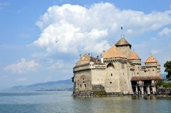 Castello di Chillon Fotografia Stock